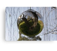 Sphere-willow Canvas Print