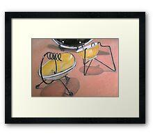 1950s Ash Tray Framed Print
