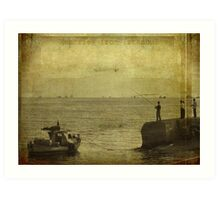 Memories from Istanbul Art Print