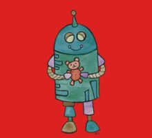 Robot with Teddy Bear Kids Clothes