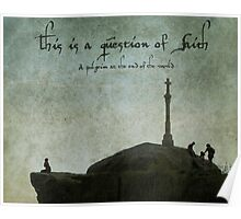 This is a question of faith Poster