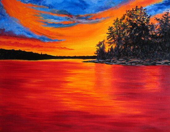 Sunset Glory by Sesha