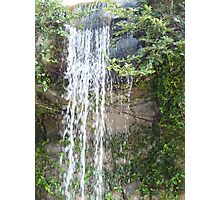 gentle waterfalls in exotic locale Photographic Print