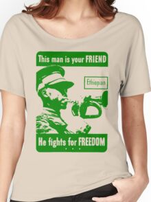 ETHIOPIAN SOLDIER Women's Relaxed Fit T-Shirt