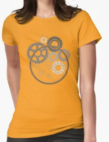 Steins Gears Womens Fitted T-Shirt