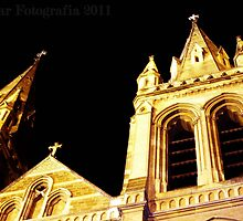 Looking To God, St Peters Cathedral, Adelaide by Cherie Vivar