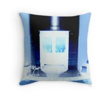 'Obey!.. or be frozen' Throw Pillow