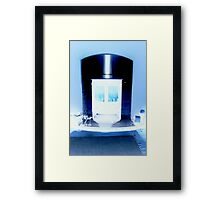 'Obey!.. or be frozen' Framed Print