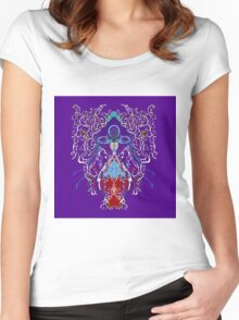 PINEAL Women's Fitted Scoop T-Shirt