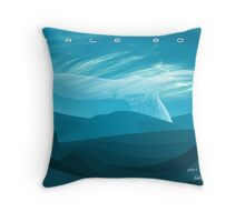Whale Song part 3 Throw Pillow