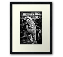 rough tough Framed Print