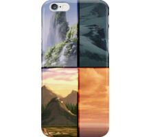 The 4 Nations (Avatar) iPhone Case/Skin