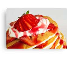 Anyone for pancakes? Canvas Print