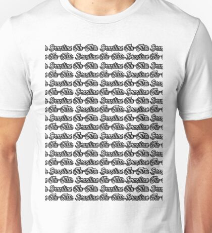 Brazilian Jiu Jitsu Black  Unisex T-Shirt