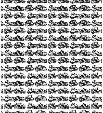 Brazilian Jiu Jitsu Black  Sticker