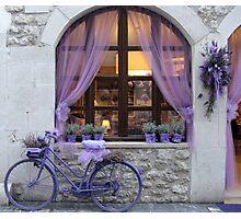 Celebrating the lavender harvest Photographic Print