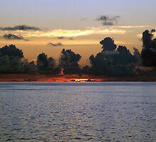 Sunset afterglow  by John Gaffen