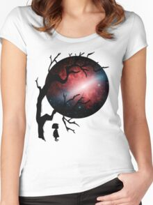 My Galaxy Women's Fitted Scoop T-Shirt