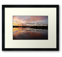 Livin' with Flair on Lake Kimberley Framed Print
