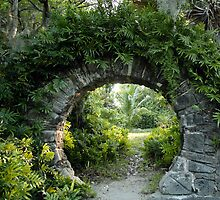 Moon Gate by John Gaffen