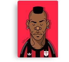 Balotelli AC Milan Canvas Print
