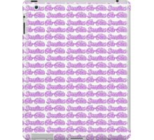 Brazilian Jiu Jitsu Purple  iPad Case/Skin