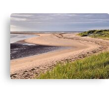 Budle Bay - Northumberland Canvas Print