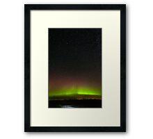 Aurora on the Plains Framed Print