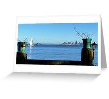 San Fran Framed Greeting Card
