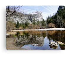 Mirror of Yosemite Canvas Print