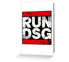 VW Run DSG  Greeting Card