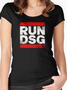VW Run DSG  Women's Fitted Scoop T-Shirt