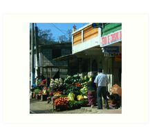 La Vida De Guatemala 2 Art Print