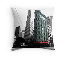 San Francisco Pops Throw Pillow