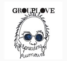 GROUPLOVE Spreading Rumours BLUE by bandsandcrap