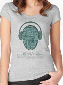 I love music - part 4 Women's Fitted Scoop T-Shirt