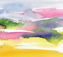 Fun with Watercolor Brushstrokes 2 by MartiGambaArt