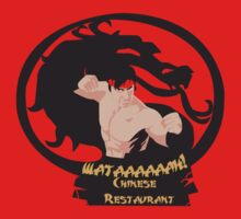 Liu Kang's Wataaaaaah! Chinese Restaurant by CrosbyDesign