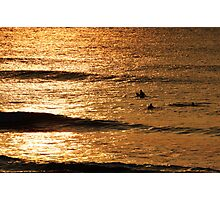 Waiting for a Wave Photographic Print