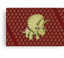 Cute Triceratops Canvas Print