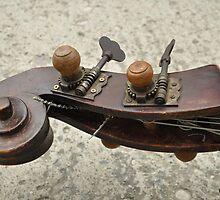 playing music in an old way by Santonia
