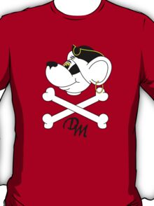 Pirate Danger Mouse. T-Shirt