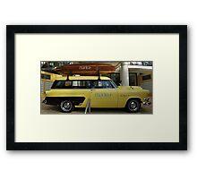 MANTRA RESORT PROMO CAR Framed Print