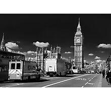 Big Ben from Westminster Bridge Photographic Print