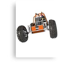 Dune buggy Canvas Print