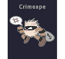 Crimeape Photographic Print