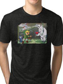 Heart for the Hero Tri-blend T-Shirt