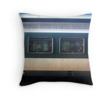 Vevey Station - The Commuters Throw Pillow