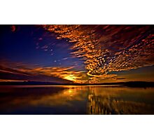 Lake under sky Photographic Print