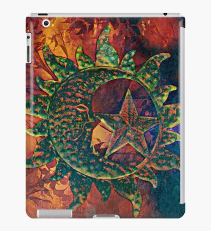 Sun, Moon, and Star iPad Case/Skin